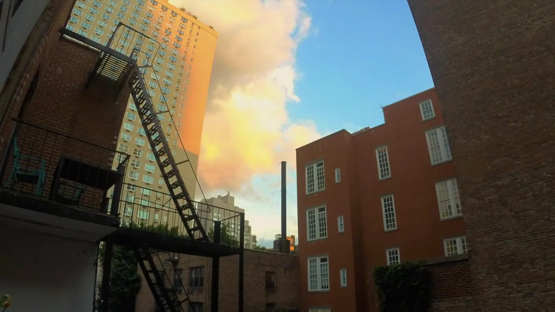 clouds, nyc, timelapse, NYC Clouds GIFs