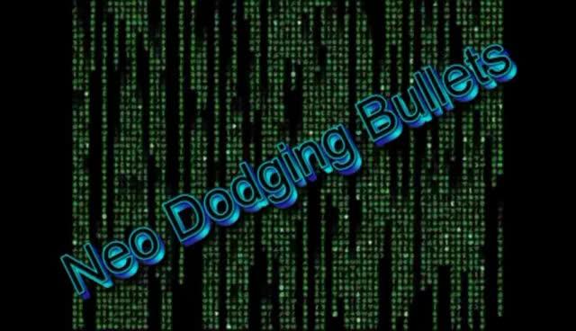 Watch and share Matrix:The Matrix Neo Dodging Bullets GIFs on Gfycat