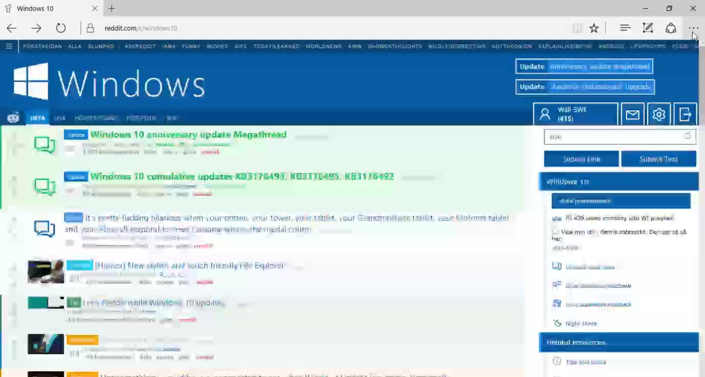 windows10, Microsoft Edge - Extension Office Online GIFs