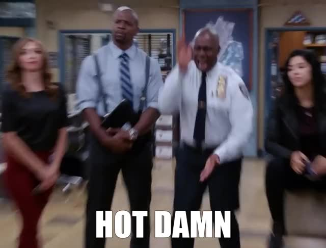 Watch and share Brooklyn Nine Nine GIFs and Andre Braugher GIFs by GIF Machine on Gfycat