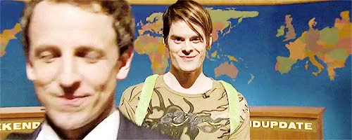 Watch this bill hader GIF on Gfycat. Discover more bill hader, gif, mine, saturday night live, seth meyers, snl, stefon, weekend update, wu GIFs on Gfycat