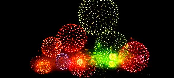Watch and share Ba Awesome Colorful Fireworks Animated Image GIFs on Gfycat