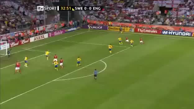 Watch and share Joe Cole Goal Vs Sweden GIFs on Gfycat