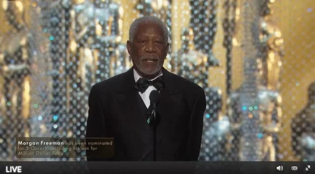 Watch and share Morgan Freeman GIFs and Present GIFs by Reactions on Gfycat