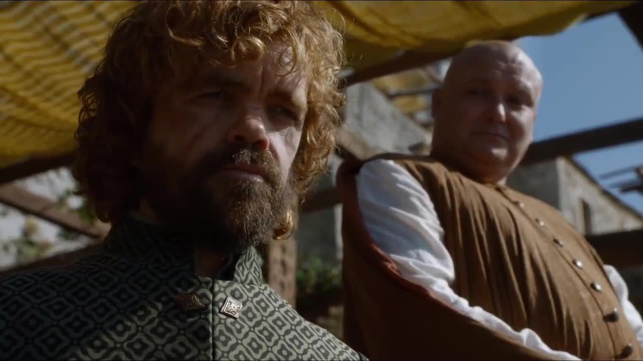 conleth hill, game of thrones, i know, i know right, peter dinklage, tyrion lannister, varys, Varys Oh I Know GIFs