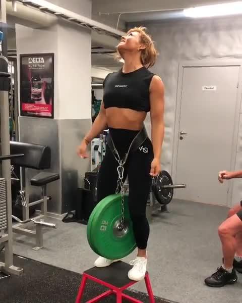 fit, fitness, pullups, strong, stronk, workout, Sophie Arvebrink GIFs