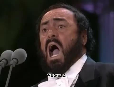 Watch and share Pavarotti GIFs on Gfycat