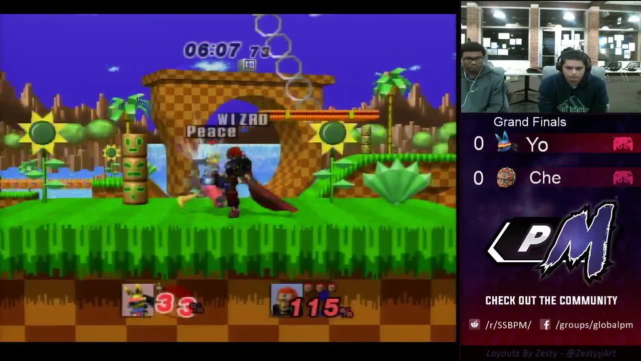 gaming, knox smash, smashgifs, ssmb, Che (Ganon) vs Yo! (Lucario) - Yes Johns 24 - P+ Grand Finals GIFs