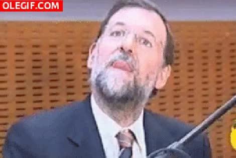 Watch and share Rajoy Saca La Lengua Humor Gif GIFs on Gfycat