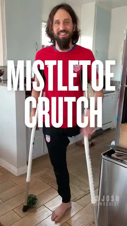 Watch and share Mistletoe Crutch GIFs by esberat on Gfycat