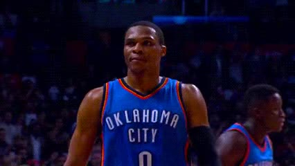 Watch and share Russell Westbrook GIFs and Date Unk GIFs by Off-Hand on Gfycat