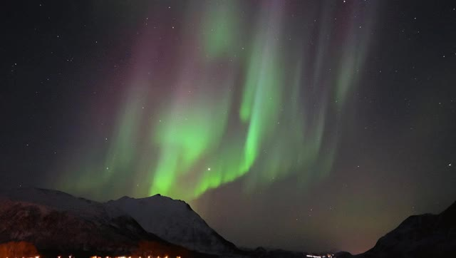 Watch Aurora Borealis Arnoya Norway GIF on Gfycat. Discover more related GIFs on Gfycat