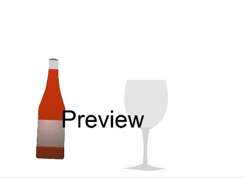 Watch and share Animated Wine Glass GIFs on Gfycat
