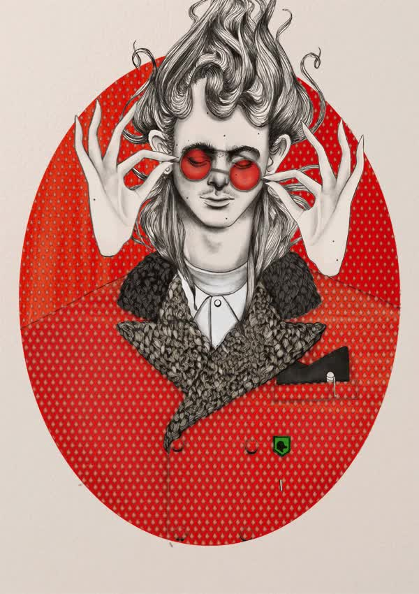 Watch and share High Fashion Illustrations Get Animated GIFs on Gfycat