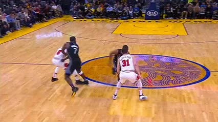 Watch and share Alec Burks And Omari Spellman — Golden State Warriors GIFs by Off-Hand on Gfycat