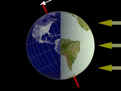 Watch and share The Earth At Winter Solstice.[animated Version] GIFs on Gfycat