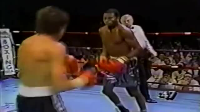 Watch Roy Jones jr drops his opponent with two left hooks  GIF by @redditmedia on Gfycat. Discover more related GIFs on Gfycat
