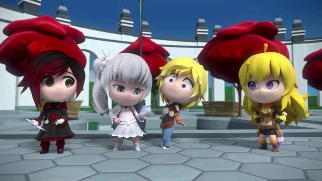 Watch and share Weiss Schnee GIFs and Jaune Arc GIFs by Spooky Noodle on Gfycat