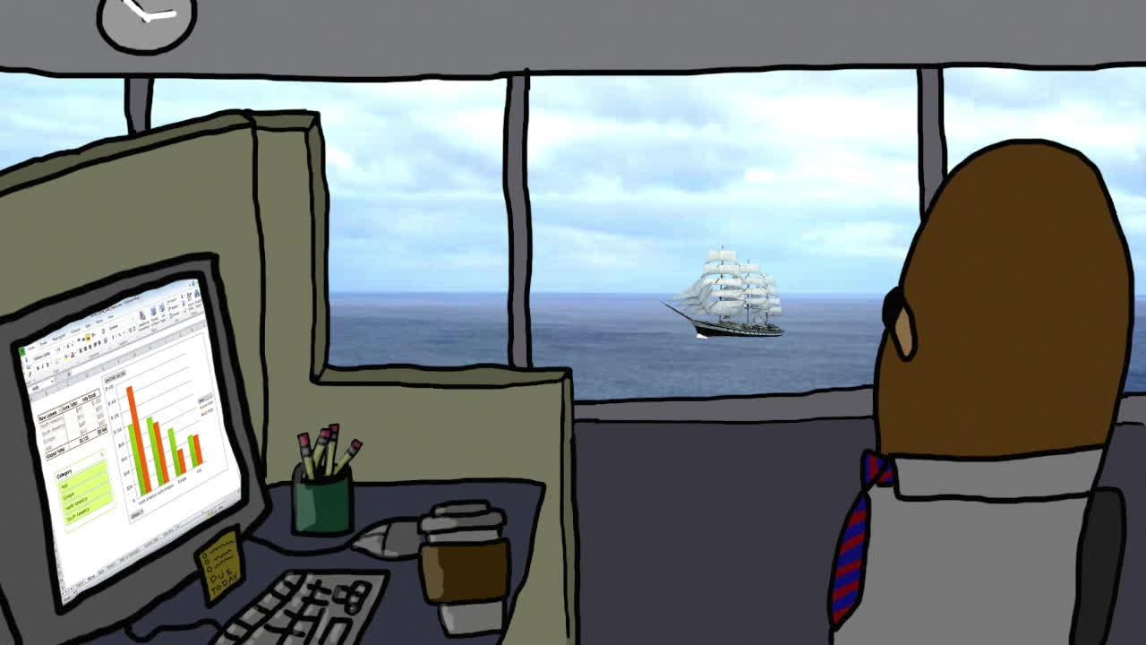 enya, gondola, orinoco flow, Gondola watches the Ocean GIFs