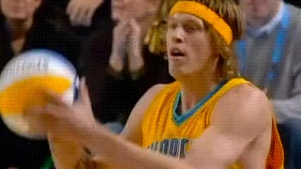 Watch and share Chris Andersen — 2005 Slam Dunk Contest GIFs by Off-Hand on Gfycat