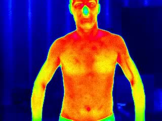 Watch and share Infrared Of Male Body GIFs on Gfycat
