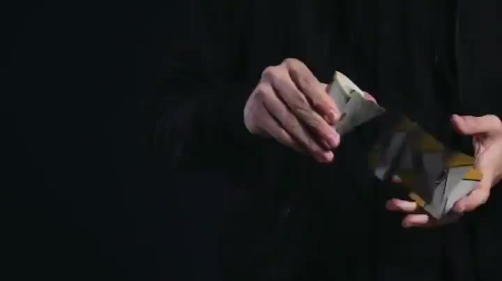 Incredible card shuffling skills GIFs