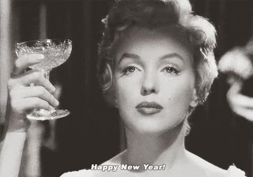 Watch happy new years eve GIF on Gfycat. Discover more marilyn monroe GIFs on Gfycat