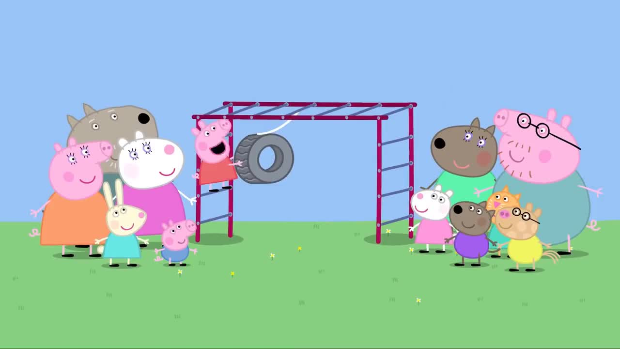 Peppa Pig The Playground Full Episode