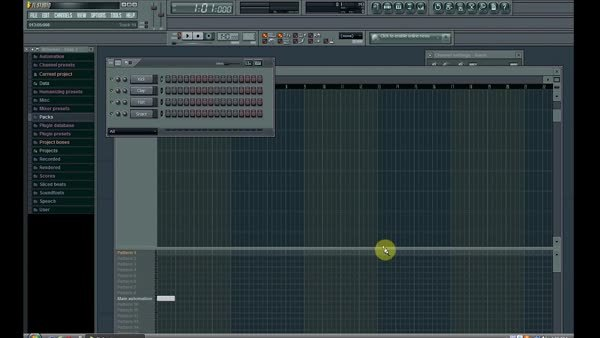 How to Use FL Studio - Beginners Tutorial - Get Started / Basic Drum Beat (reddit) GIFs