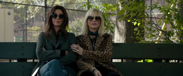 Watch and share Cate Blanchett GIFs and Sandra Bullock GIFs by Ocean's 8 Movie on Gfycat