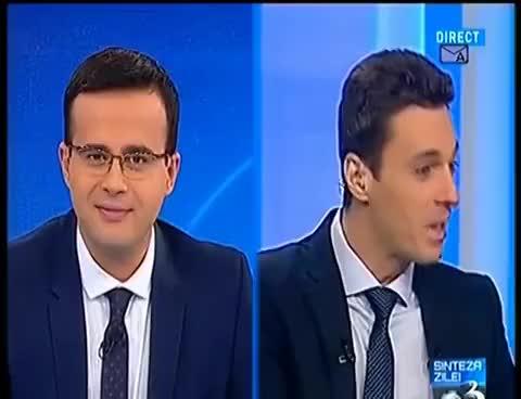 Watch and share Super Pasa Sinteza Zilei Cu Mihai Gadea - In Gura Presei Cu Mircea Badea - Duminica 23.11.2014 GIFs on Gfycat