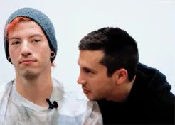 Watch and share Twenty One Pilots GIFs and Twenty Øne Piløts GIFs on Gfycat