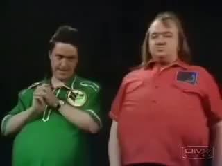 Watch and share Alas Smith And Jones   Drunken Darts 1990s GIFs on Gfycat