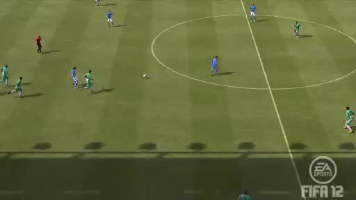 gamephysics, [FIFA12]  An unavoidable loss of possesion (reddit) GIFs