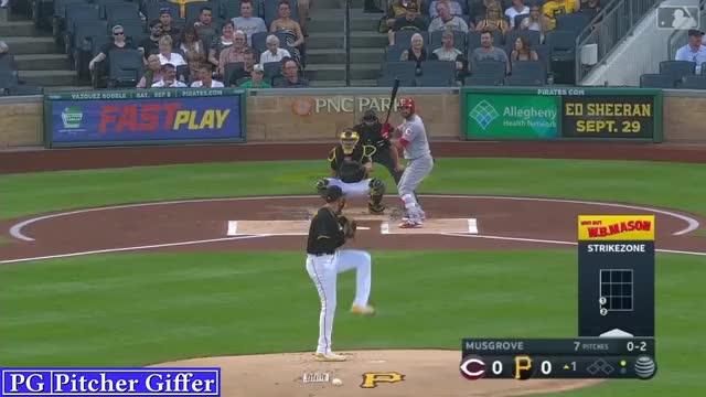 Watch and share Joe Musgrove GIFs and Baseball GIFs by DigitalOpticals on Gfycat