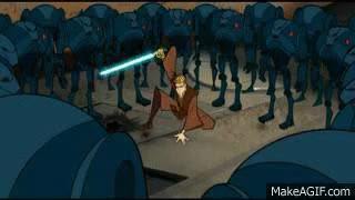 Watch anakin force pushes battalion GIF on Gfycat. Discover more related GIFs on Gfycat
