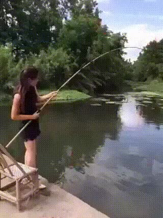 Watch fishing in heels GIF on Gfycat. Discover more related GIFs on Gfycat
