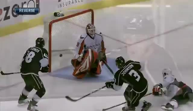 hockey, jackjohnson, kings, losangeles, Jack Johnson does the Tebow GIFs