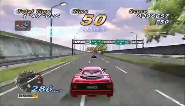 Outrun 2 HD Drift Gameplay! GIFs