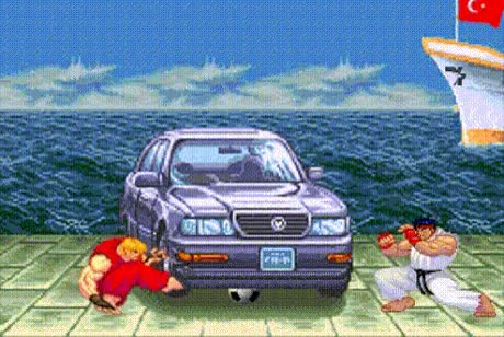 Watch and share Street Fighter GIFs and Video Games GIFs on Gfycat