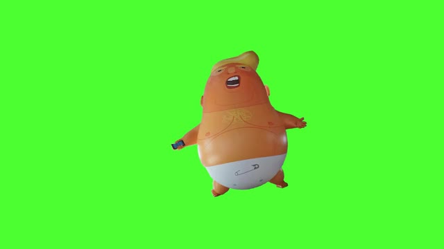 Watch this chroma key GIF on Gfycat. Discover more AmericaFirst, BabyTrump, Buildthewall, Buildwall, GodblessUSA, Theresa and Trump, TheresaandTrump, UK and USA, UKandUSA, Wesaluteoneflag, animation, baby trump, balloon, chroma key, donald trump, friday 13th, green screen, london, protest, visit 2018 GIFs on Gfycat