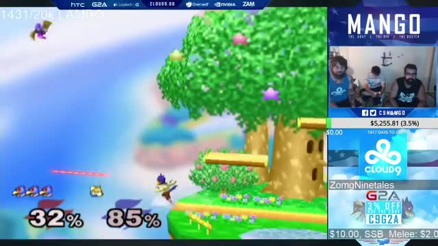 Nobody else plays Falco like Mang0
