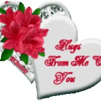 Watch and share Hugs And Kisses animated stickers on Gfycat