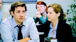 Watch and share Jim Halpert GIFs and Pam Beesly GIFs on Gfycat