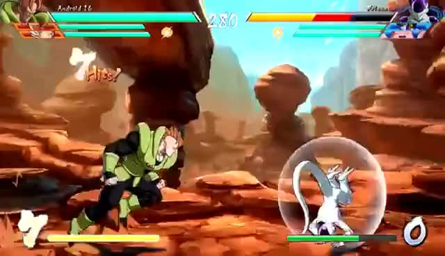 Watch and share ANDROID 16 - Combos, Specials & Breakdown: DragonBall FighterZ (4K HD) GIFs on Gfycat