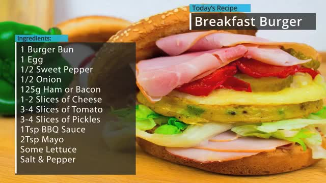Watch and share Breakfast Burger GIFs and Recipe GIFs by Uncle Retardo  on Gfycat