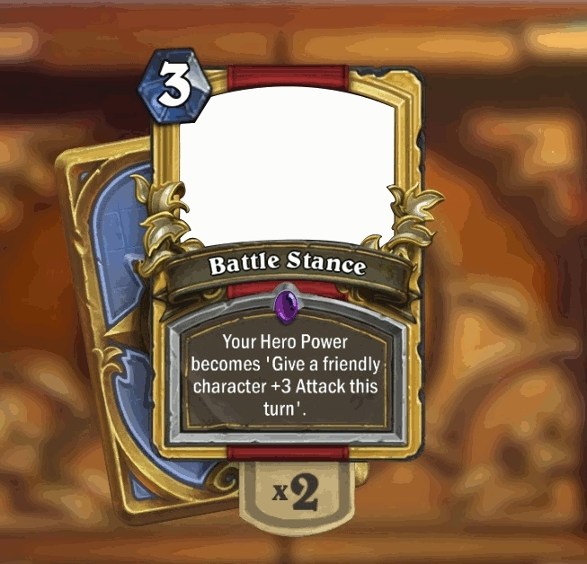 customhearthstone, Battle Stance GIFs