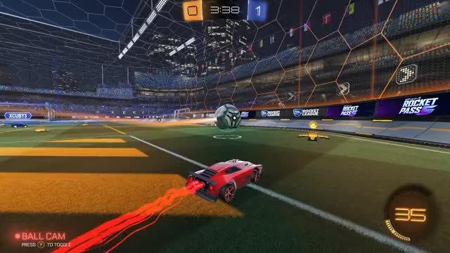 Watch and share Rocket League GIFs by Grey Cat on Gfycat