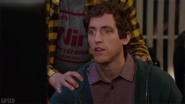 Watch and share Thomas Middleditch GIFs on Gfycat
