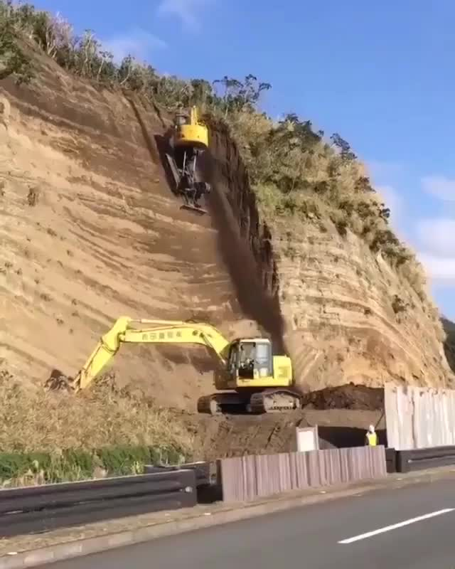 Watch and share Excavator GIFs and Terrfying GIFs by GIFs For Everything on Gfycat